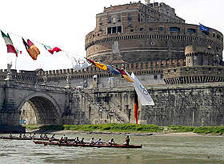 Rowing in Rome 2