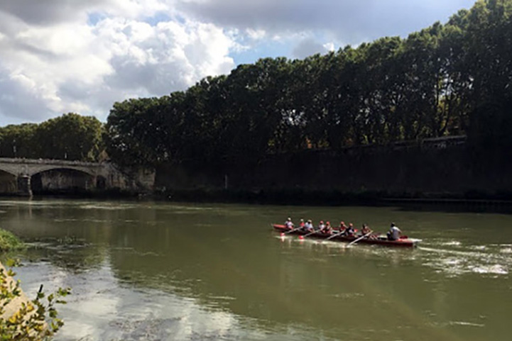 Rowing in Rome 3